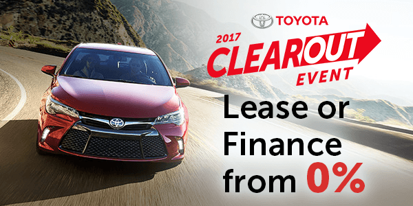 Toyota Clearout Event