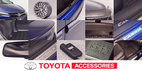 TOYOTA Accessory Package Rebate