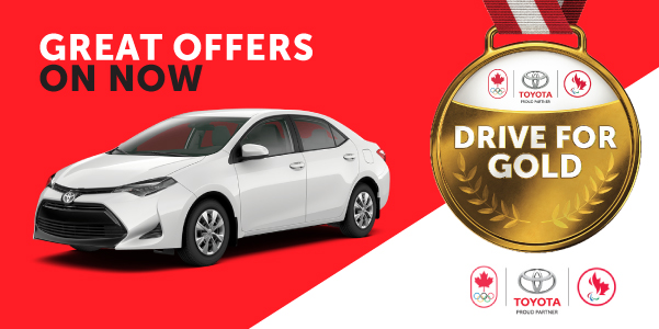 Toyota Drive for Gold Sales Event
