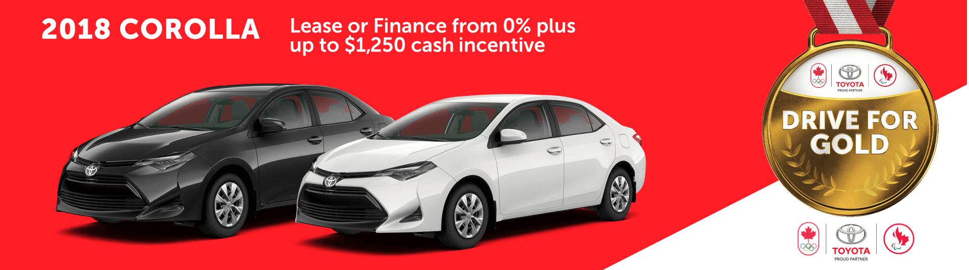 2018 Toyota Corolla Sales