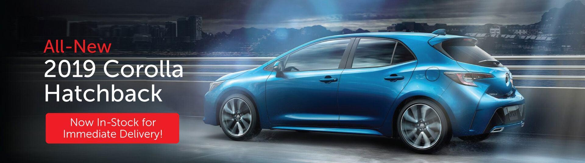 All-New 2019 Toyota Corolla Hatchback