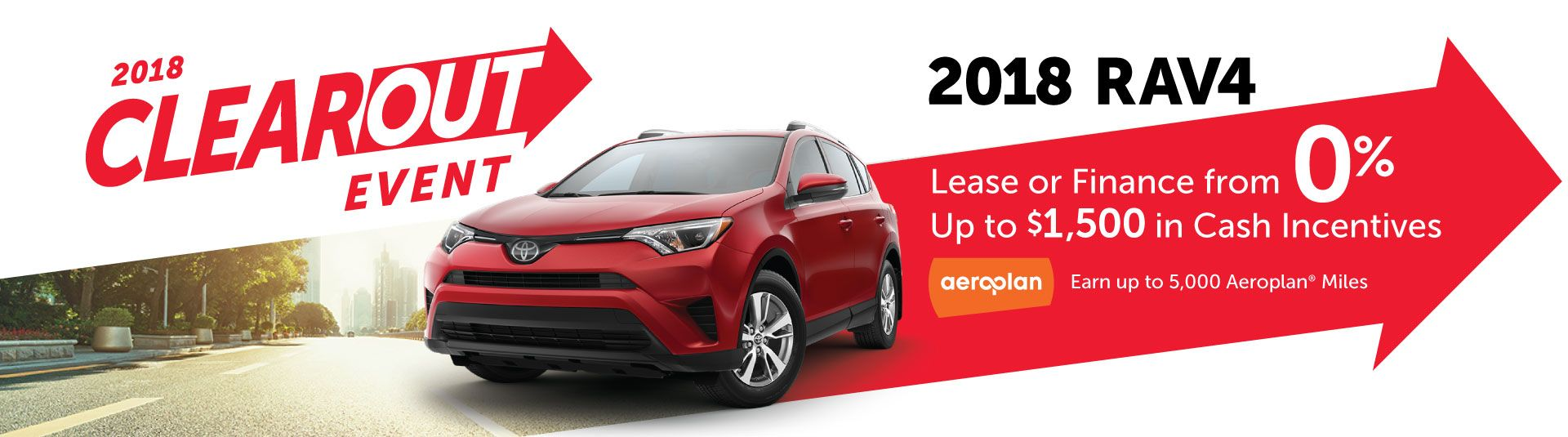 2018 Toyota Clearout Event