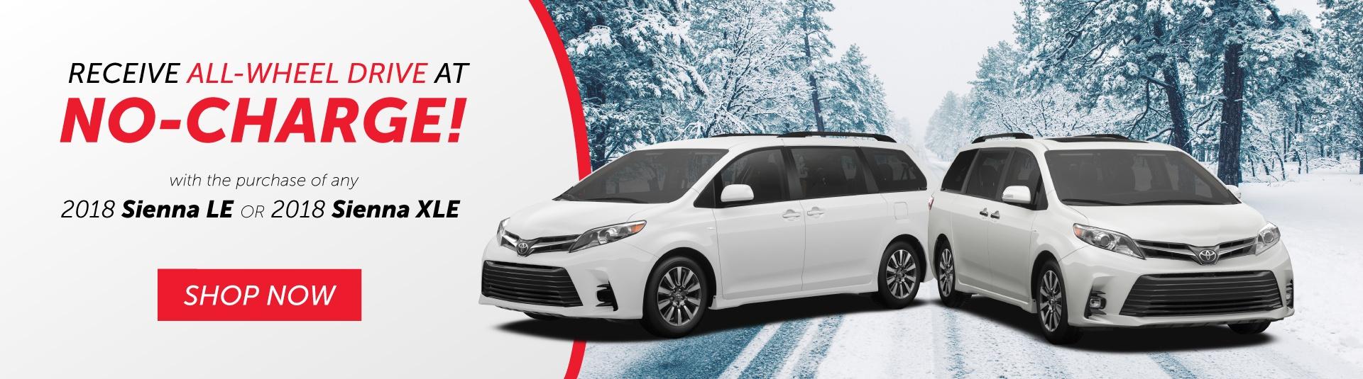 2018 Toyota Sienna Offer
