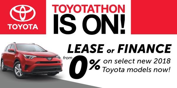 2018 Toyotathon Event
