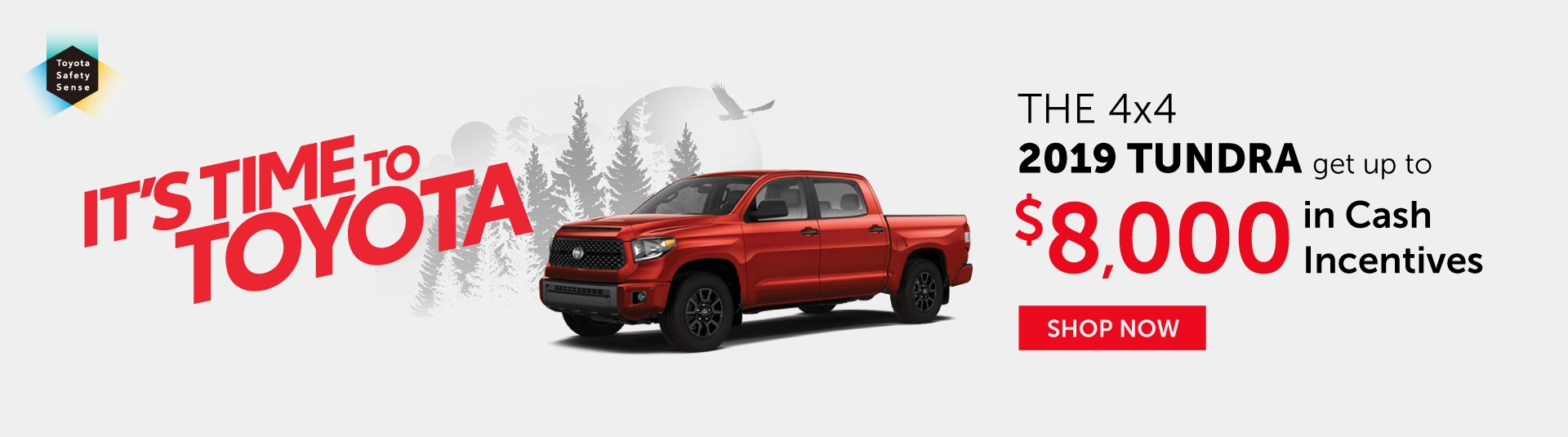 It's Time To Toyota - Tundra Offer