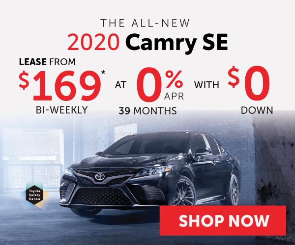 2020 Camry SE