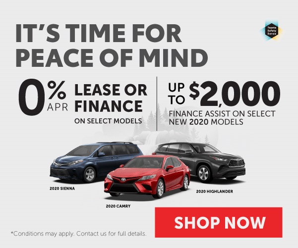 Toyota Peace of Mind Package - Goderich Toyota