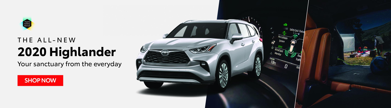2020 Highlander - Goderich Toyota