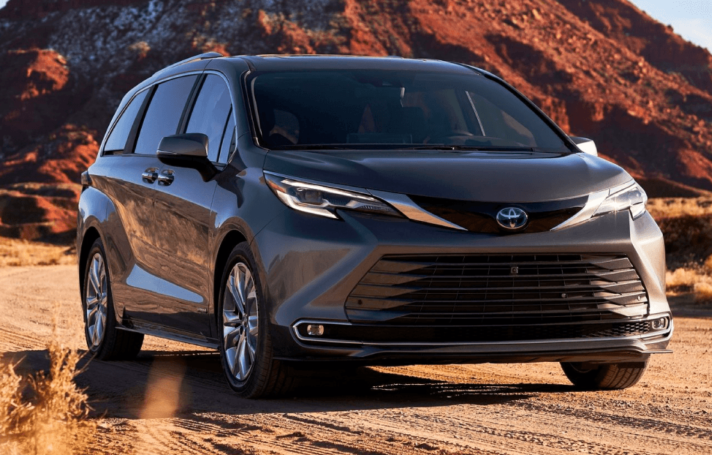 The Redesigned 2021 Toyota Sienna