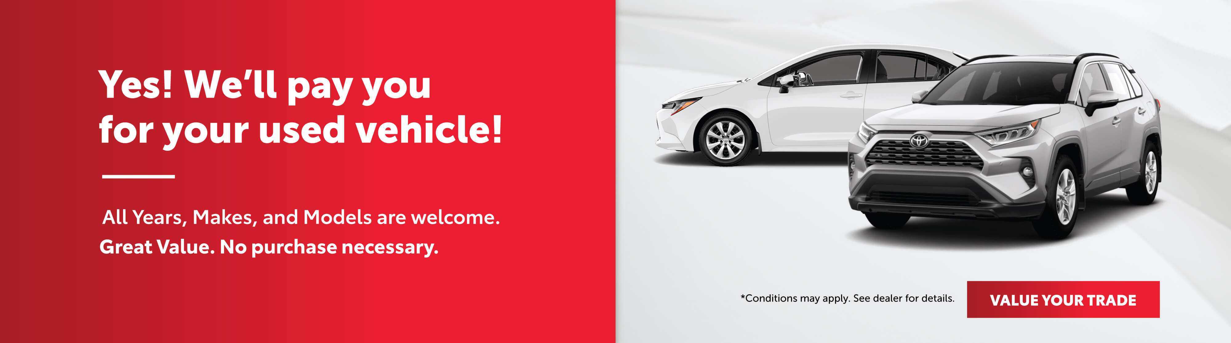 Goderich Toyota Trade In Offer