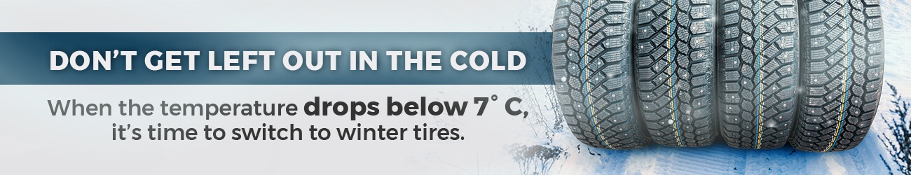 winter tires at Goderich Toyota